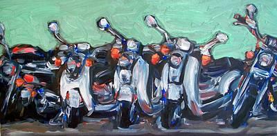 Tres Amici Original by Sheila Tajima
