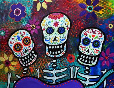 Tres Amigos Art Print by Pristine Cartera Turkus