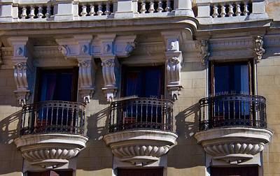 Photograph - Tres Balcones by David Resnikoff