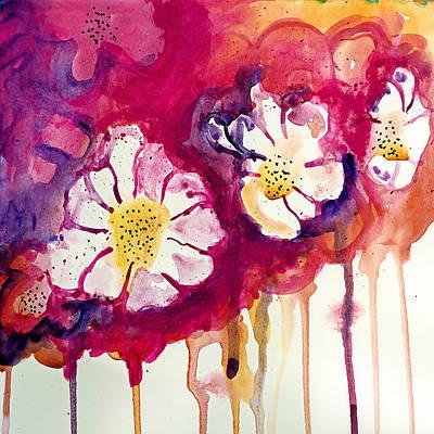 Tres Floras Art Print