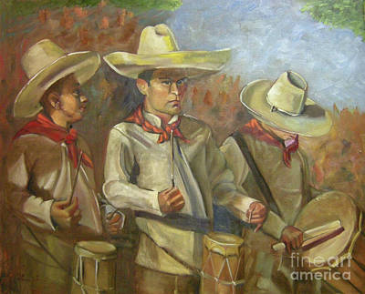 Painting - Tres Tambores by Lilibeth Andre