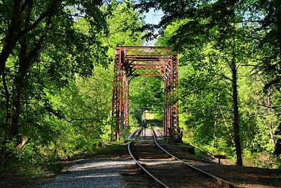 Photograph - Trestle Bridge by Kathryn Meyer