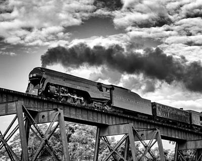 Photograph - Trestle Crossing by Alan Raasch