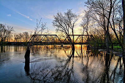 Photograph - Trestle To Clarksville 3 by Bonfire Photography