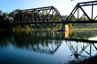 Photograph - Trestle To Clarksville by Bonfire Photography