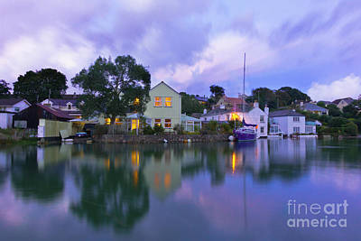 Photograph - Trevellan Road, Mylor Bridge by Terri Waters