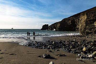 Photograph - Trevellas Cove by Brian Roscorla