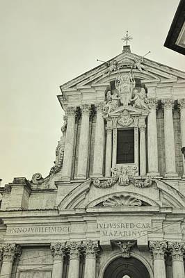 Photograph - Trevi Church by JAMART Photography