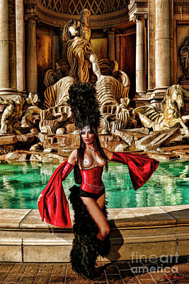 Photograph - Trevi Fountain Beauty by Blake Richards