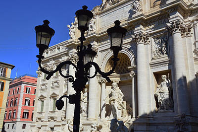 Photograph - Trevi Morning by JAMART Photography