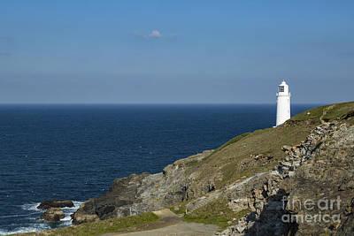 Photograph - Trevose Head Lighthouse by Brian Roscorla