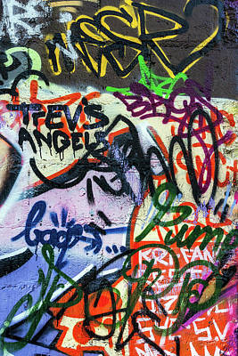 Photograph - Trev's Angels Graffiti by Pierre Leclerc Photography