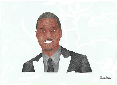 Hop Drawing - Trey Songz by Toni Jaso
