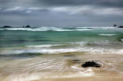 Treyarnon Bay,  Cornwall, Uk, 2 Art Print