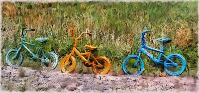Photograph - Tri Bike by Leslie Montgomery