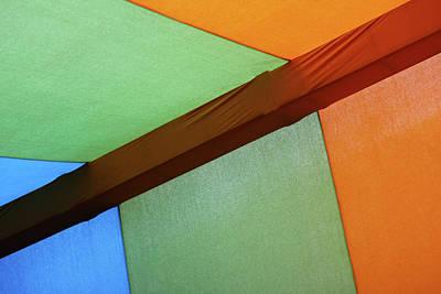 Photograph - Tri Color Minimal  by Prakash Ghai