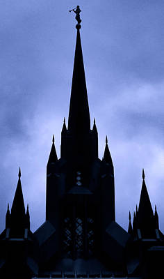 Photograph - Tri-spire Temple by Joseph Hollingsworth