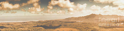 Trial Harbour Landscape Panorama Art Print