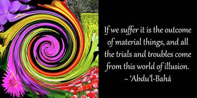 Trials And Troubles Art Print