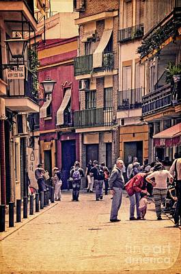 Photograph - Triana On A Sunday Afternoon 2 by Mary Machare