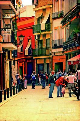 Photograph - Triana On A Sunday Afternoon 3 by Mary Machare