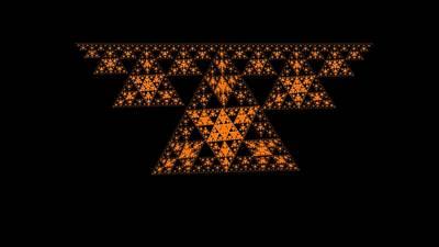 Digital Art - Triangle  Closing  Digital  Art by Sheila Mcdonald