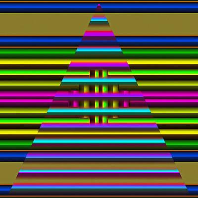Digital Art - Triangle Dream by Mario Carini