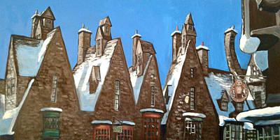Triangles Of Hogsmeade Florida Original by Scott Pallack