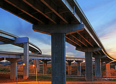 Photograph - Triangle Overpass by Christopher McKenzie