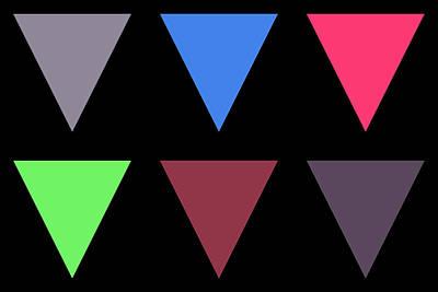 Triangle - Zentao Art Print