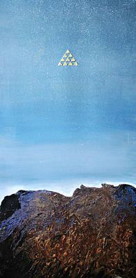 Painting - Triangles by Alma Yamazaki