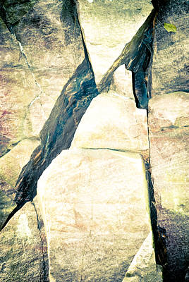 Photograph - Triangles In Granite by Christi Kraft