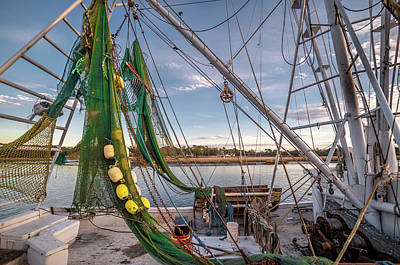Photograph - Triangles In The Harbor by Gerald Monaco