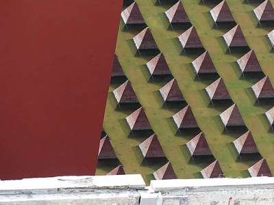 Photograph - Triangulation Number Two by Brian Boyle