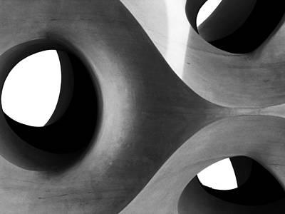 Barcelona Digital Art - Triarchy by Alan Todd