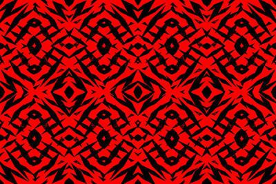 Digital Art - Tribal 1 by Steve Ball