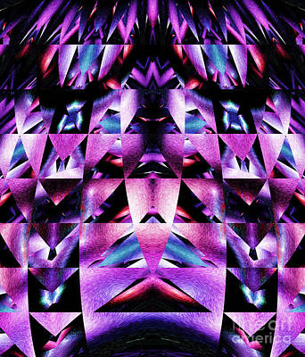 Digital Art - Tribal Abstract 2 by Mary Machare