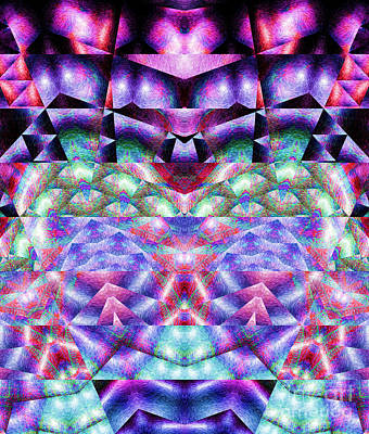Digital Art - Tribal Abstract 3 by Mary Machare