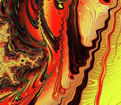 Digital Art - Tribal Abstract by Georgiana Romanovna