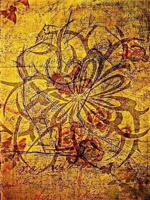Tribal Flower Print by Paulo Zerbato