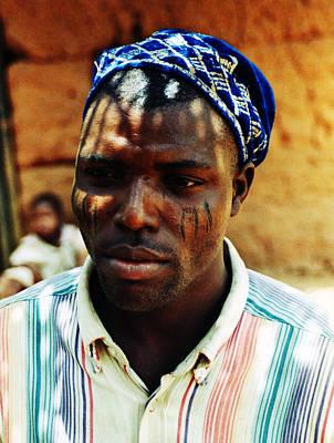 Photograph - Tribal Marks by Muyiwa OSIFUYE
