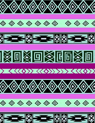 Painting - Tribal Pattern 06 by Aloke Creative Store