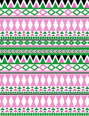 Painting - Tribal Pattern 07 by Aloke Creative Store