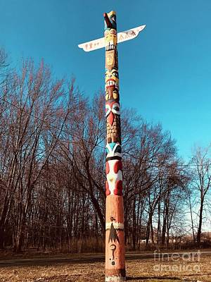 Photograph - Tribal Signs  by Michael Krek