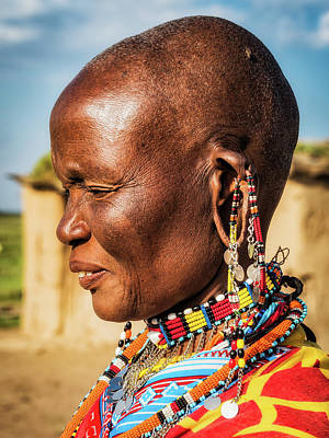 Photograph - Tribal Traditions by Robin Zygelman