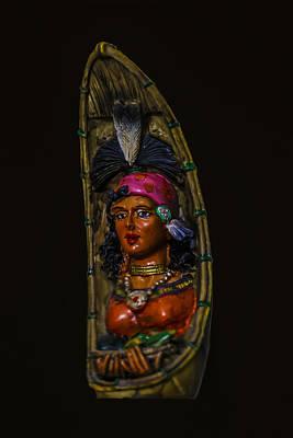 Photograph - Tribal Woman Art by Ramabhadran Thirupattur