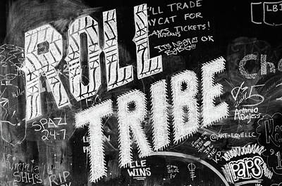 Photograph - Tribe Graffiti by Stewart Helberg