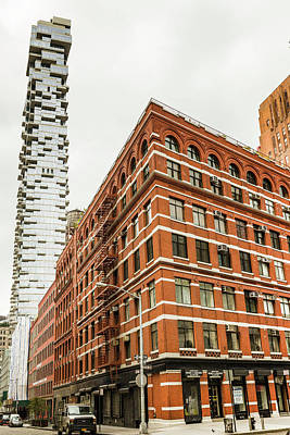 Photograph - Tribeca Old And New by Fran Gallogly