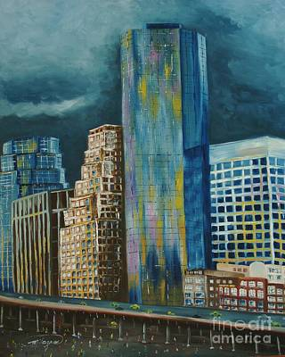 Painting - Tribeka by Milagros Palmieri