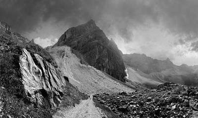 Photograph - Tribulaunhutte, Tirol by James Clancy